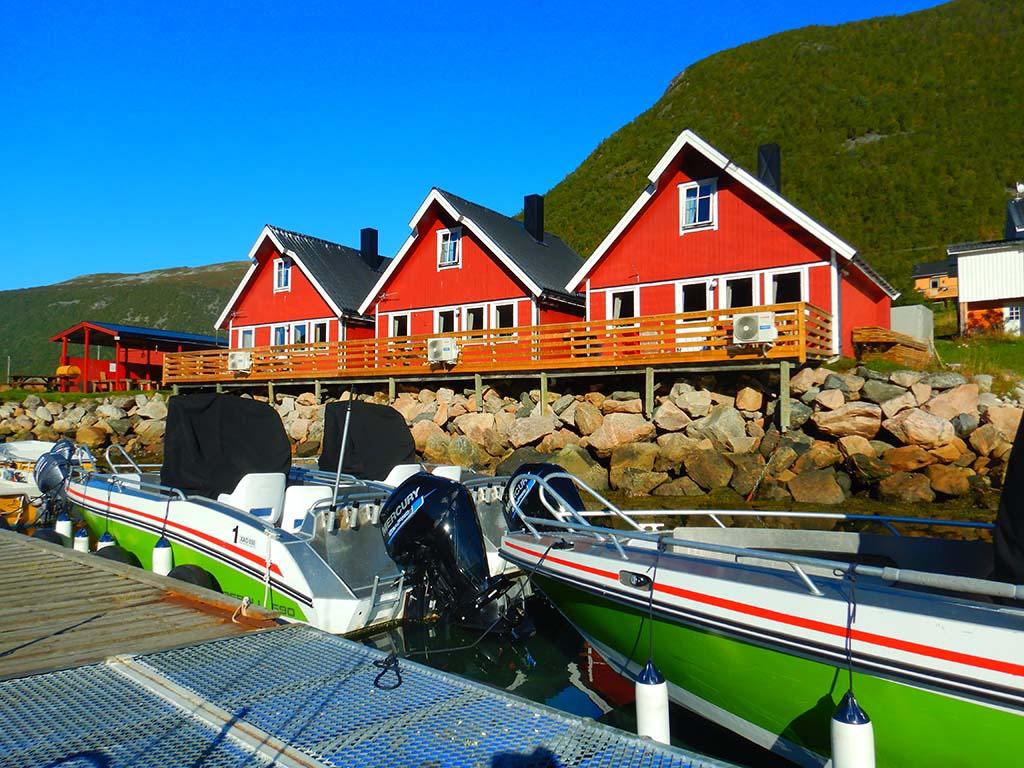 Kaasbøll-Boote und Unterkünfte direkt am Wasser
